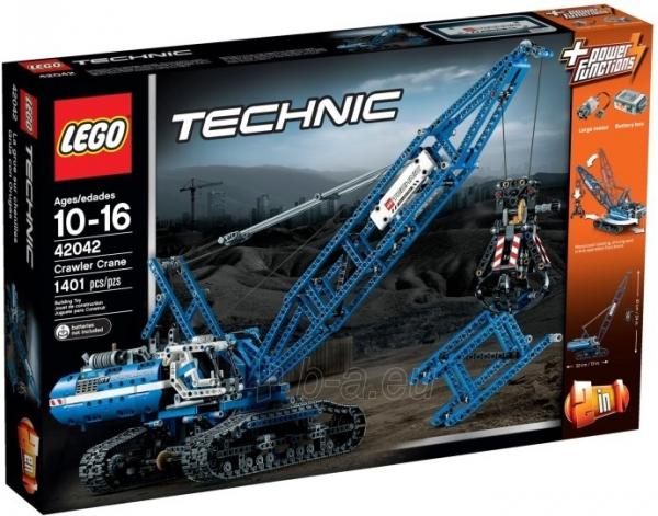 Konstruktorius 42042 LEGO Technic Crawler Crane NEW 2015! Paveikslėlis 1 iš 1 30005401469