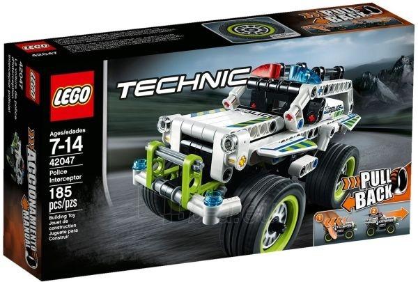 Konstruktorius 42047 Lego Technic Полицейский патруль Paveikslėlis 1 iš 1 30005401533