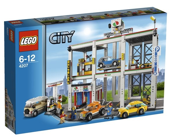 Konstruktorius 4207 Lego city Garažas Paveikslėlis 2 iš 4 30005400011