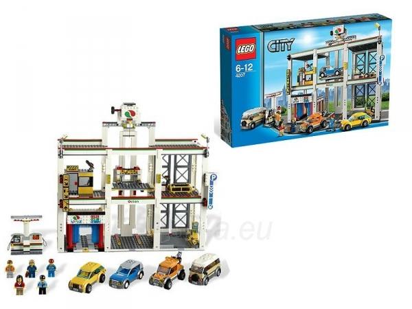 Konstruktorius 4207 Lego city Garažas Paveikslėlis 4 iš 4 30005400011