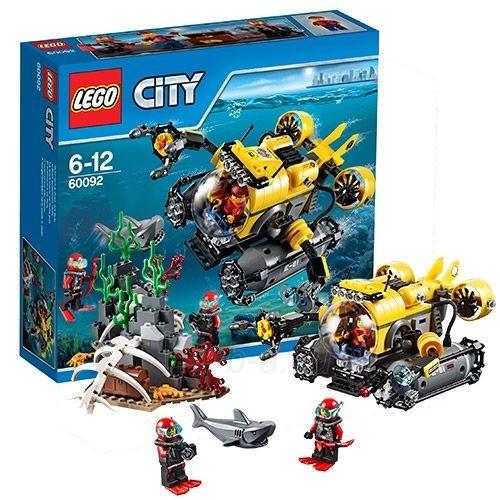 60092 LEGO City Глубоководная подводная лодка, c 6 до 12 лет NEW 2015! Paveikslėlis 1 iš 1 30005401473
