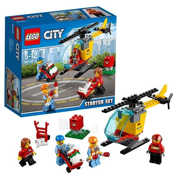 Konstruktorius 60100 Lego City oro uostas Paveikslėlis 1 iš 1 310820048321