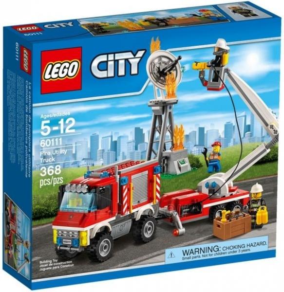Konstruktorius 60111 Lego City Fire Utility Truck Paveikslėlis 1 iš 1 30005401543