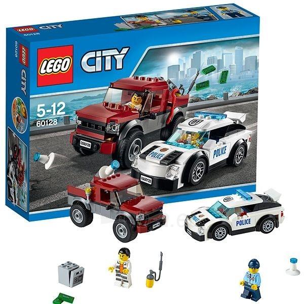 Konstruktorius 60128 Lego City Полицейская погоня Paveikslėlis 1 iš 1 30005401553