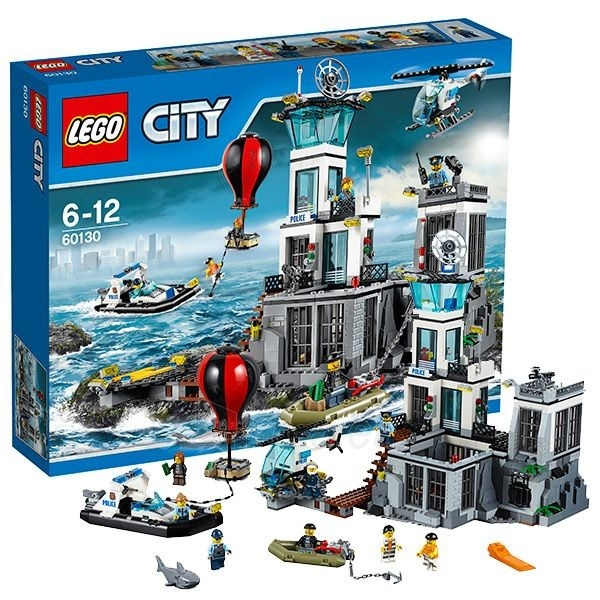 Konstruktorius 60130 Lego City Остров-тюрьма Paveikslėlis 1 iš 1 30005401555