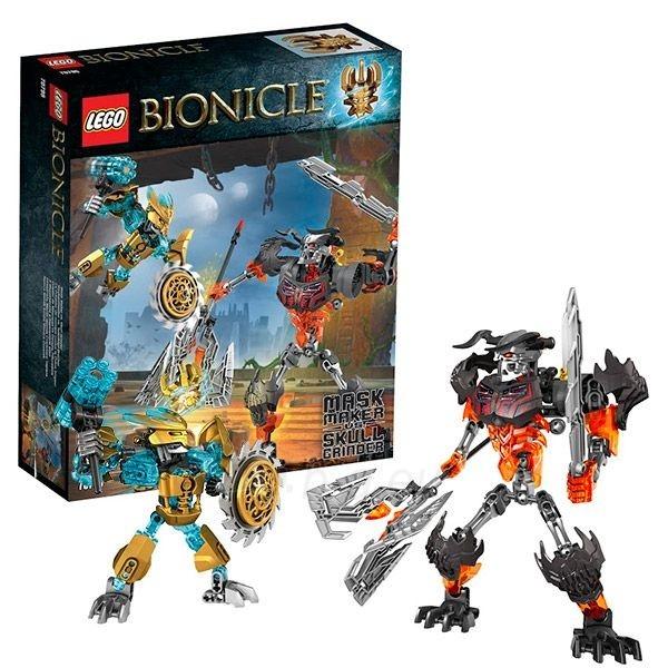 70795 LEGO Bionicle Создатель Масок против Стального Черепа, с 8 до 14 лет NEW 2015! Paveikslėlis 1 iš 1 30005401481