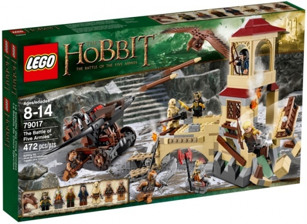 79017 Lego HOBBIT The Battle of the Five Armies Paveikslėlis 1 iš 2 30005401496
