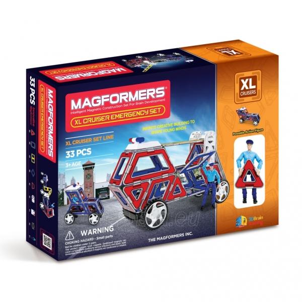 Konstruktorius Cruisers Emergency Car set XL Paveikslėlis 1 iš 4 310820081035