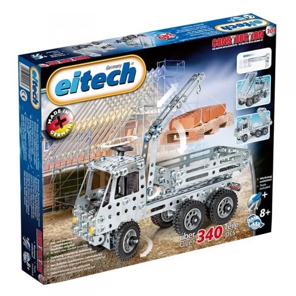 Konstruktorius Eitech Truck with crane Paveikslėlis 1 iš 2 310820116014