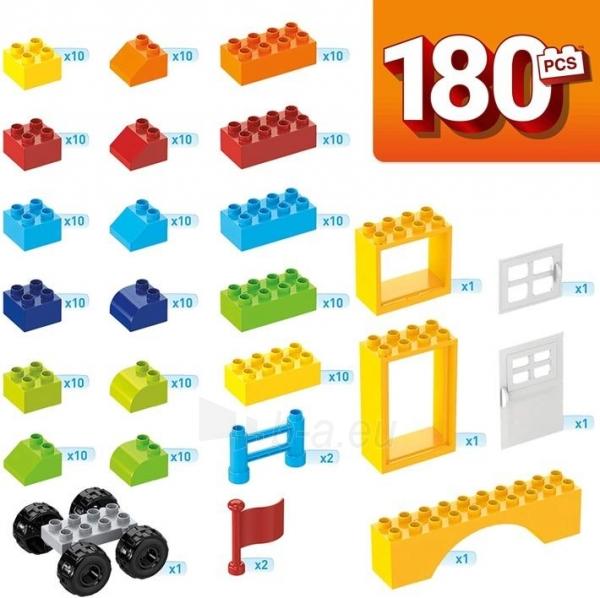 Konstruktorius GJD22 Mega Bloks Mini Bulk Tub - Large 180 PCS MATTEL Paveikslėlis 3 iš 3 310820230381