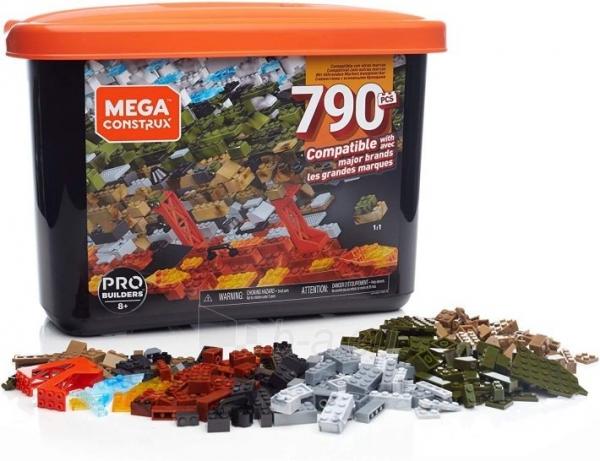 Konstruktorius GJD26 Mega Construx Probuilder 790-pcS Building Tub, Paveikslėlis 1 iš 6 310820230382