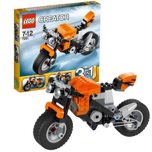 Lego 7291 Creator Street Rebel Paveikslėlis 1 iš 2 30005400288