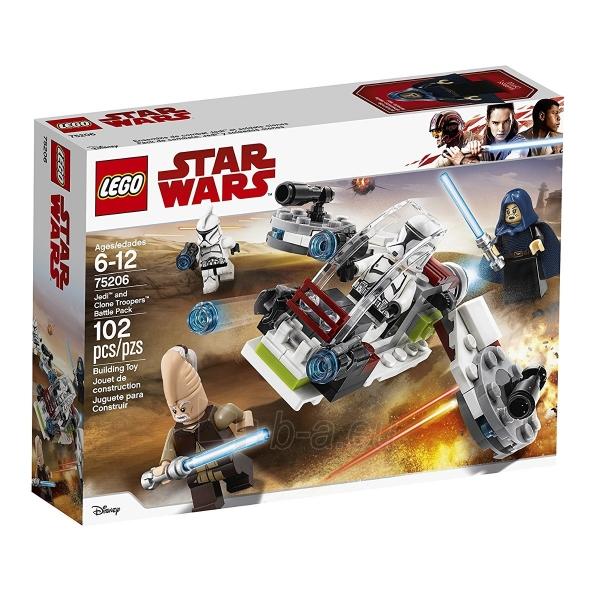 Konstruktorius Lego 75206 Jedi# and Clone Troopers# Battle Pack Paveikslėlis 1 iš 1 310820164155