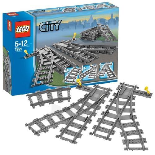 Konstruktorius Lego 7895 City Switching Tracks Paveikslėlis 1 iš 2 30005400291