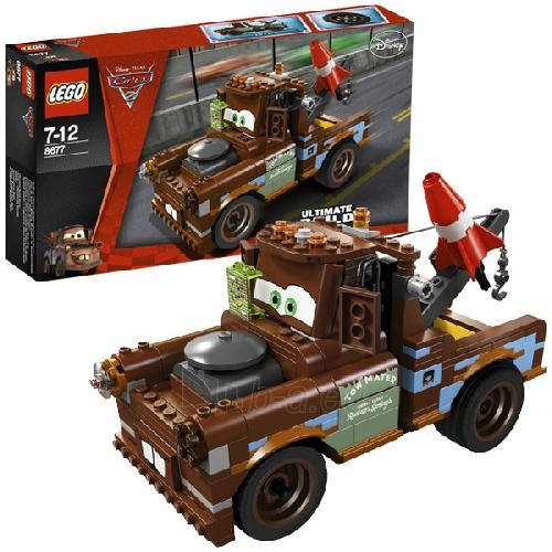 Lego 8677 Cars Ultimate Build Mater