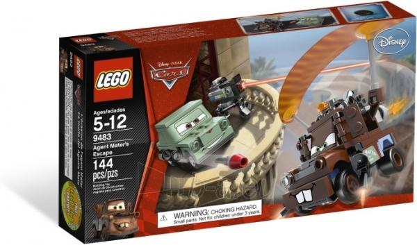 Lego 9483 Cars Disney Agent Maters Escape Paveikslėlis 1 iš 3 30005400292