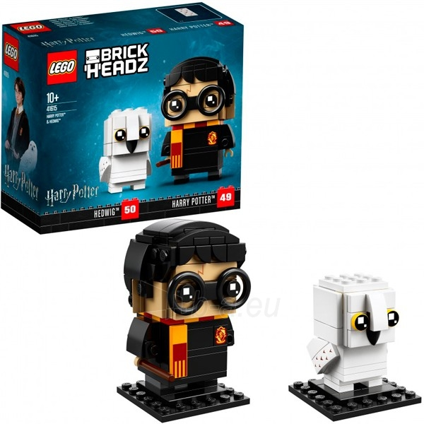 Konstruktorius Lego BrickHeadz 41615 Конструктор Лего БрикХедз Гарри Поттер и Хедвиг Paveikslėlis 1 iš 1 310820153099