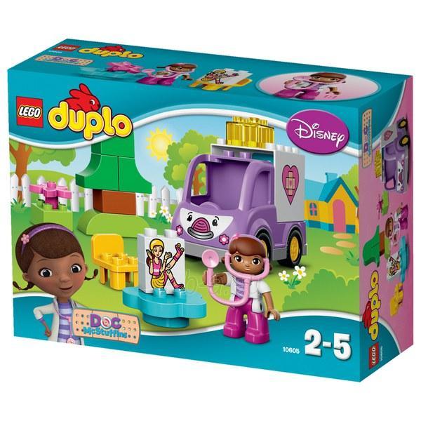 Konstruktorius LEGO Doc McStuffins Rosie the Amb 10605 Paveikslėlis 1 iš 2 30005401784