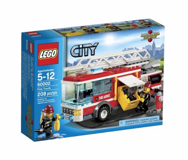 Konstruktorius LEGO Fire Truck V29 60002 Paveikslėlis 1 iš 2 30005401626