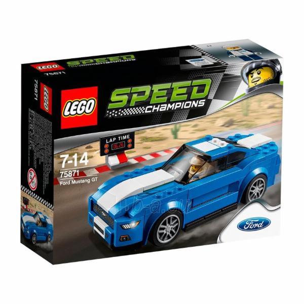 Konstruktorius LEGO Ford Mustang GT V29 75871 Paveikslėlis 1 iš 2 30005401745