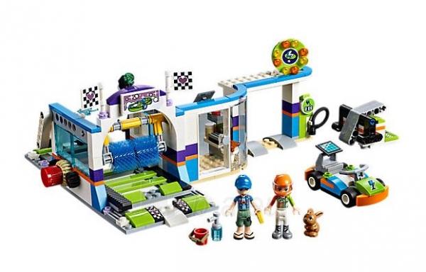 Konstruktorius Lego Friends 41350 Spinning Brushes Car Wash Paveikslėlis 1 iš 5 310820153135