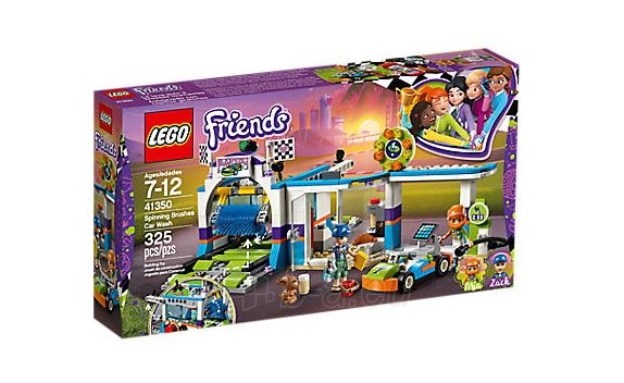 Konstruktorius Lego Friends 41350 Spinning Brushes Car Wash Paveikslėlis 2 iš 5 310820153135