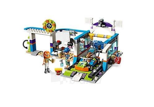Konstruktorius Lego Friends 41350 Spinning Brushes Car Wash Paveikslėlis 3 iš 5 310820153135