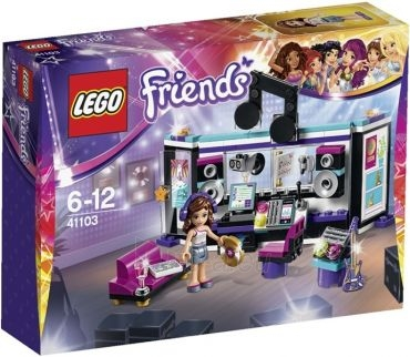 Konstruktorius Lego Friends Pop Star Įrašų studija 41103 Paveikslėlis 1 iš 4 30005401407
