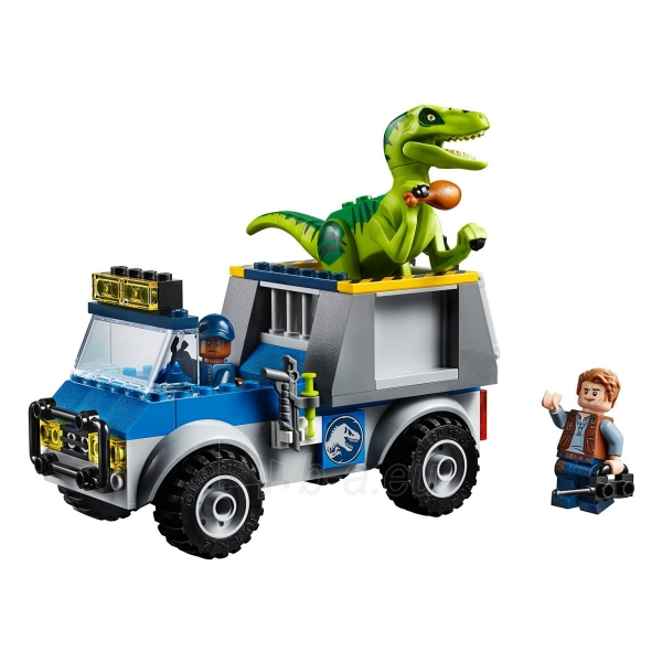 Konstruktorius LEGO Juniors Raptor Rescue Truck E1219 Paveikslėlis 3 iš 4 310820145800