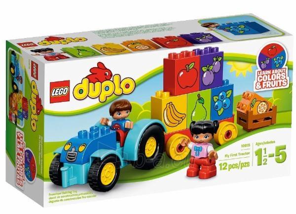 Konstruktorius LEGO My First Tractor 10615 Paveikslėlis 1 iš 1 30005401265