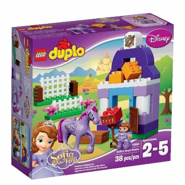 Konstruktorius LEGO Sofia the First Royal Stable 10594 Paveikslėlis 1 iš 2 30005401292