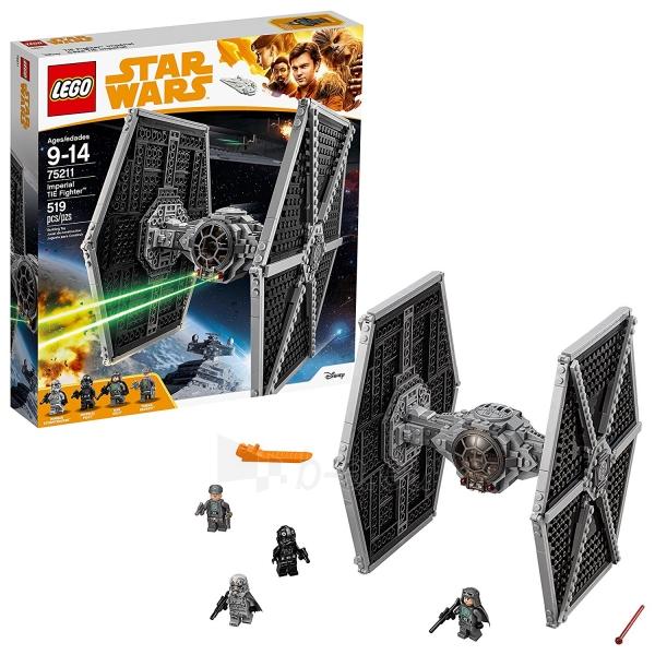 Konstruktorius Lego Star Wars 75211 Imperial TIE Fighter Paveikslėlis 1 iš 5 310820153125