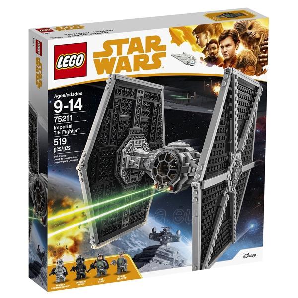 Konstruktorius Lego Star Wars 75211 Imperial TIE Fighter Paveikslėlis 4 iš 5 310820153125