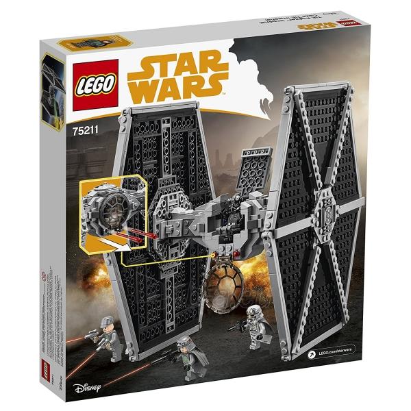 Konstruktorius Lego Star Wars 75211 Imperial TIE Fighter Paveikslėlis 5 iš 5 310820153125