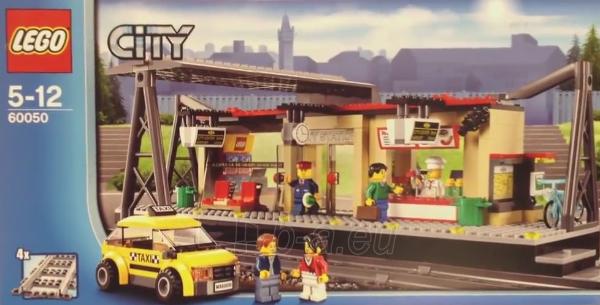Konstruktorius LEGO Train Station V29 60050 Paveikslėlis 1 iš 1 30005401165