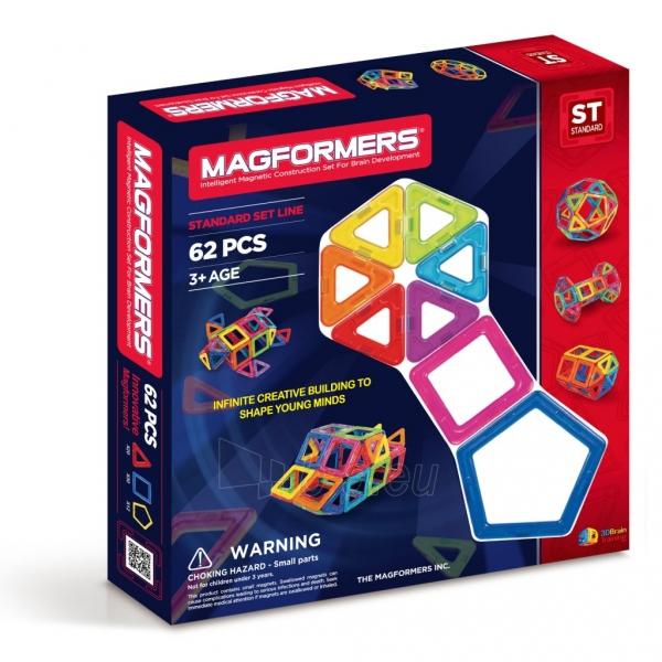 Konstruktorius Magformers-62 Paveikslėlis 1 iš 3 310820081039