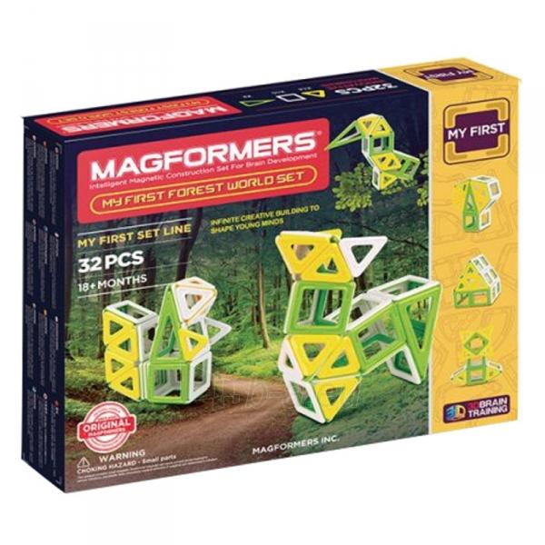 Konstruktorius My First Forest World set 32P Paveikslėlis 1 iš 2 310820080778