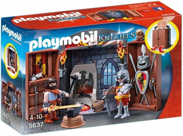 Konstruktorius Playmobil 5637 Knights Armoury Play Box - Multi-Colour Paveikslėlis 1 iš 3 310820182941
