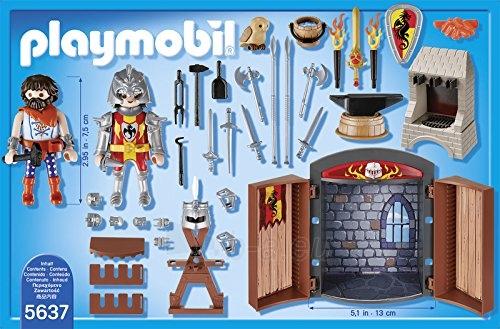 Konstruktorius Playmobil 5637 Knights Armoury Play Box - Multi-Colour Paveikslėlis 2 iš 3 310820182941