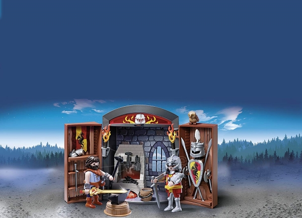 Konstruktorius Playmobil 5637 Knights Armoury Play Box - Multi-Colour Paveikslėlis 3 iš 3 310820182941