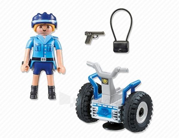 Konstruktorius Playmobil 6877 Polizistin mit Balance-Racer Paveikslėlis 2 iš 2 310820182952