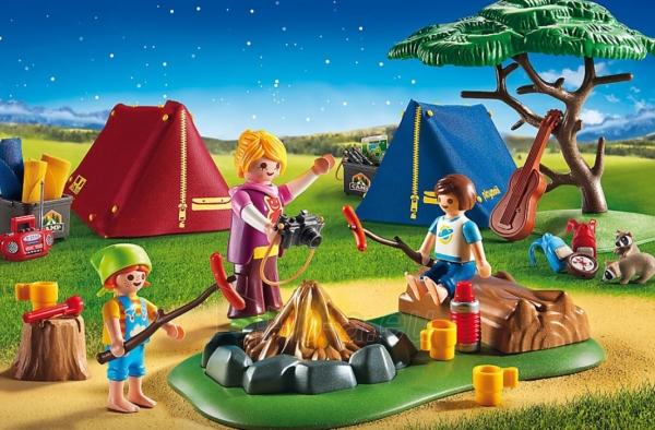 Konstruktorius Playmobil 6888 Tent Camping with LED Fire Paveikslėlis 4 iš 5 310820182955