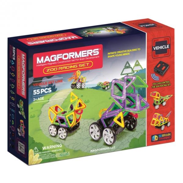 Konstruktorius Zoo Racing set Paveikslėlis 1 iš 3 310820080809