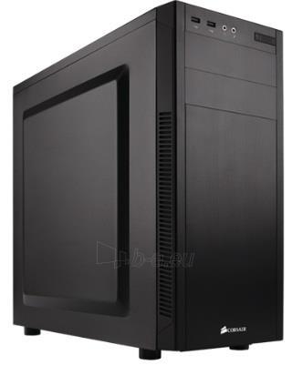 Korpusas Corsair Carbide Series 100R Silent Edition Mid-Tower Case Paveikslėlis 1 iš 2 310820015654