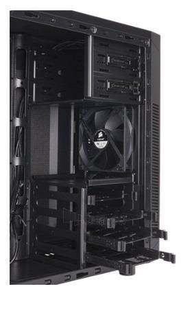 Korpusas Corsair Carbide Series 100R Silent Edition Mid-Tower Case Paveikslėlis 2 iš 2 310820015654
