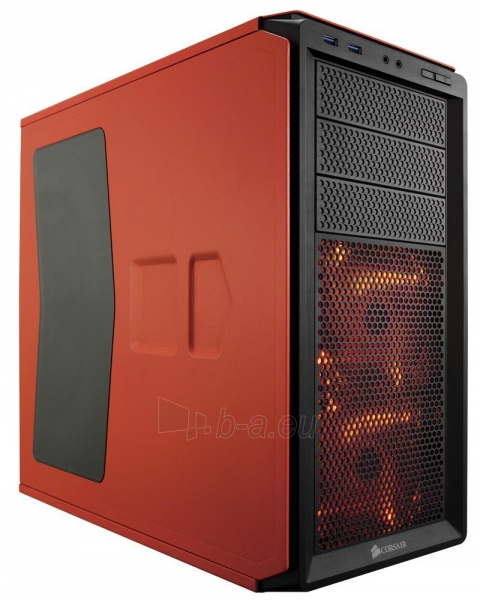 Korpusas Corsair computer case Graphite Series™ 230T Compact Mid Tower Case Orange Paveikslėlis 1 iš 3 310820015653