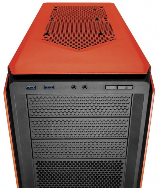 Korpusas Corsair computer case Graphite Series™ 230T Compact Mid Tower Case Orange Paveikslėlis 2 iš 3 310820015653