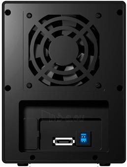 Korpusas Icy Box External 4x3,5 HDD case SATA to USB 3.0, eSATA, JBOD, Black Paveikslėlis 2 iš 3 310820015648