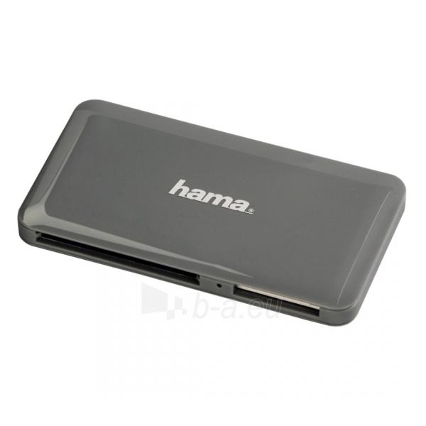 Kortelių skaitytuvas HAMA Slim USB 3.0 Multi Card Reader Paveikslėlis 1 iš 1 310820016097