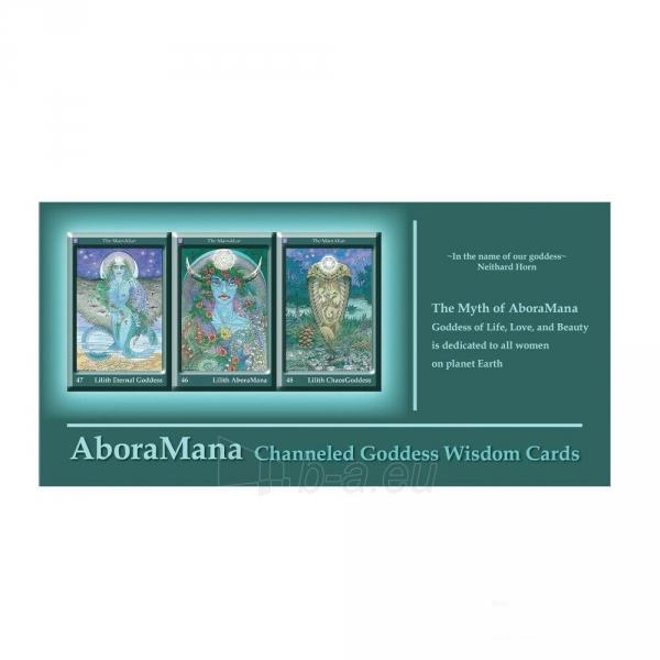 Kortos AboraMana: Channeled Goddess Wisdom Paveikslėlis 6 iš 6 310820217270
